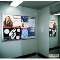 Реклама у ліфтах та під'їздах