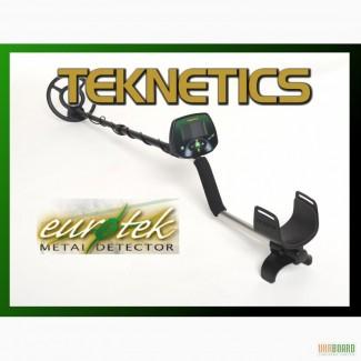 Металлоискатель Teknetics Eurotek + DD катушка на выбор
