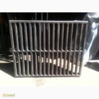 Чугунная решетка гриль для барбекю и мангала. 50 см. х 40 см