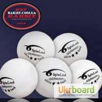 Продам мячи для настольного тенниса SpinLord 2 звезды Ultra Hard ( 1 шт.)