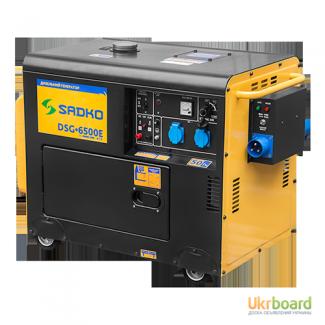Генератор дизельный Sadko (Садко) DSG-6500E ATS. 6 кВт. Автом. запуск