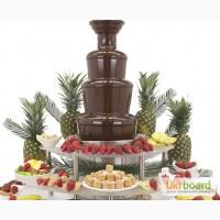 Шоколадный фонтан на вечеринку. Доставим, установим, запустим