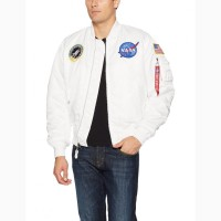 NASA MA-1 FLIGHT JACKET (Альфа Индастри) Куртка ветровка мужская наса флайт жакет