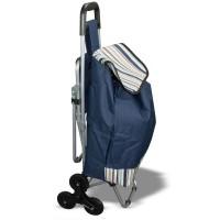 Сумка на колесах, со стулом - сумка тележка