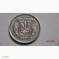 Брак монеты 1 копійка 2007г
