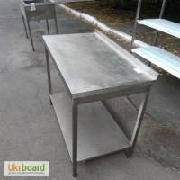 Стол из нержавеющей стали б/у для кухни