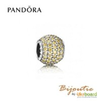 Оригинал шарм PANDORA шар паве 791051FCZ