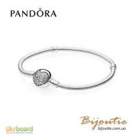Оригинал Pandora браслет 590743CZ серебро 925