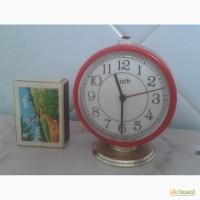 Луч ( Luch ) часы-будильник, сохран, на ходу 100%