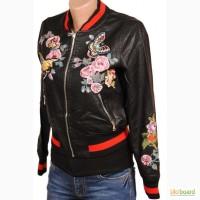 Куртки женские демисезонные (джинс, эко-кожа) оптом от 330 грн