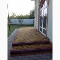 Укладка тротуарной плитки (ФЭМ, клинкерный кирпич)