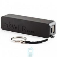 Power Bank 2600 mAh черный