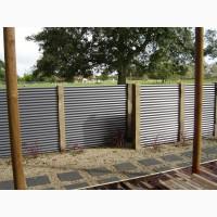 Забор и ворота из профнастила под ключ. Производим профнастил по низким ценам