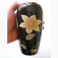 """Японская кобальтовая миниатюрная ваза для цветов """"Kutani"""