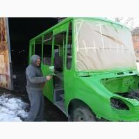 Сварочные работы автобусов