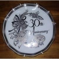 Подарочная тарелка, 30th Aniversary