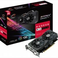 Геймерская видеокарта Asus Radeon RX560 4GB GAMING ROG Strix OC GDDR5, Одесса