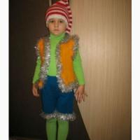 Детский карнавальный костюм Буратино ручной работы