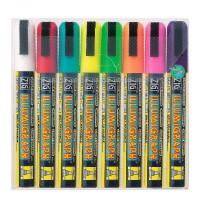 Крейдовий маркер меловой маркер illumigraph кольорові
