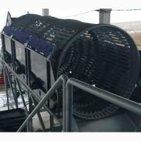 Барабанный сепаратор для переработки ТБО