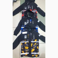 Модная демисезонная куртка - парка Modern для мальчиков 6 - 9 лет ( рост 116 - 134 см)