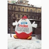 НАДУВНАЯ РЕКЛАМА Киев. Реклама на воздушном шаре. НАДУВНЫЕ Фигуры