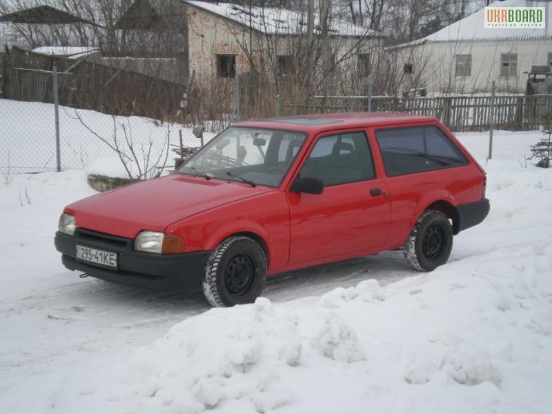 ford escort двухдверный