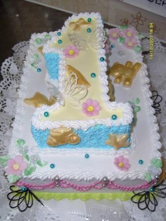 Торт ребенку на день рождения веселый