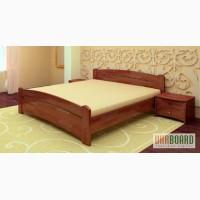 Кровать двуспальная Венеция из натурального дерева - бук щит или