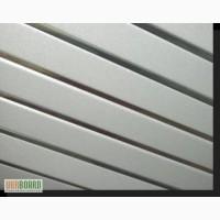 Алюминиевый подвесной потолок: реечный от Албес