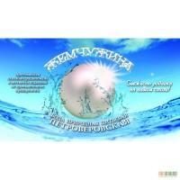 Доставка природной питьевой воды Петроверовская жемчужина.