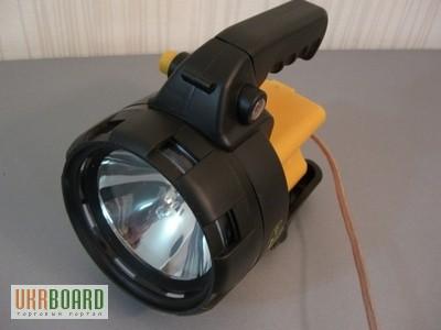 фара-искатель прожектор с ручкой для рыбалки