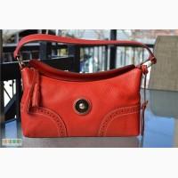 Сумка Dooney and Bourke Red Leather Satchel Б/У , оригинал