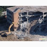 Демонтаж зданий и сооружений.Доставка любых стройматериалов
