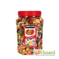 Конфеты бобы Jelly Belly Kirkland 49 вкусов - банка 1, 8 кг