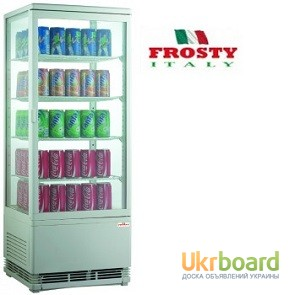 Фото 2. Холодильная витрина шкаф холодильный Frosty RT 98 L Б/У