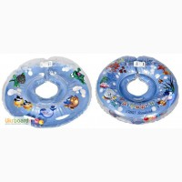 Круг для купания младенцев Delfin EuroStandart, блакитний, 0-36міс. 262787