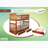 Двухъярусная кровать-трансформер Азалия (Тандем)