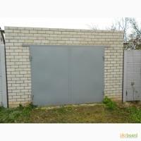 Гаражные ворота листовые (лист 2 мм) 2000*2000