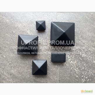 Заглушки квадратные и прямоугольные, внутренние пластиковые для трубы профильной