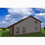 Быстровозводимый каркасный дом из сип панелей от застройщика