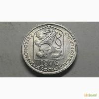 Чехословакия 10 геллеров 1976 год