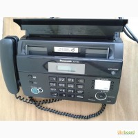 Продам телефон-факс Panasonic KX-FT982UA-B Black