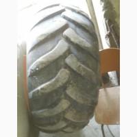 Б/у шины с дисками 500/60-26, 5 трелеборг колеса