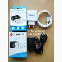 Зарядка сетевое зарядное устройство СЗУ Meizu с кабелем MicroUSB на 2A