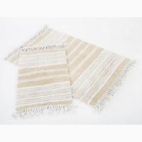 Набор ковриков в ванную Irya Relax bej бежевый 60×90 40×60 хлопок