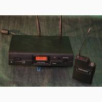 Радіосистема інструментальна, наголовна, петлична Audio-technica