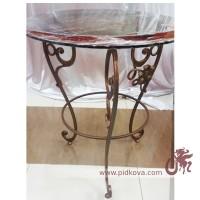 Кованый столик, стол кованый, журнальный столик