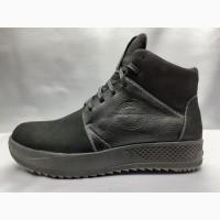 Скидка!Зимние нубуковые ботинки на платформе Madoks