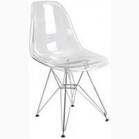 Прозрачный стул Тауэр металлические ножки